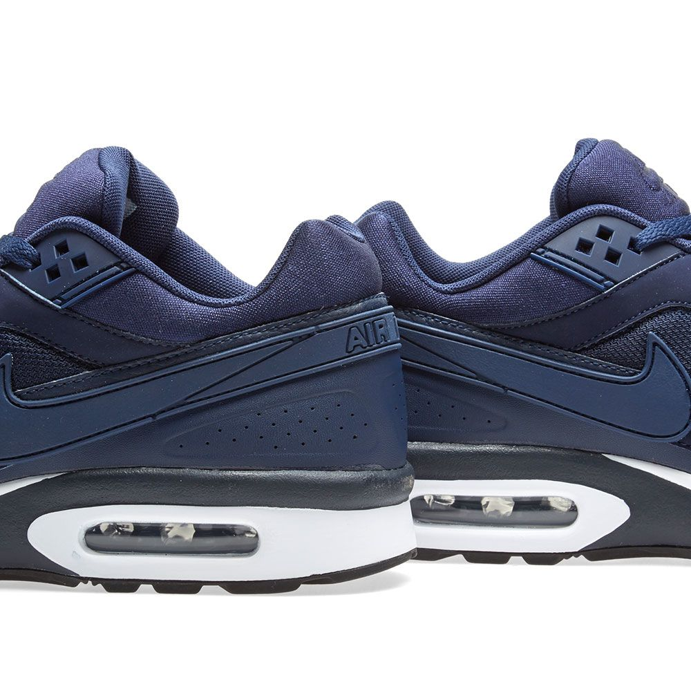 separation shoes 3d2b6 f24f2 Nike Air Max BW Midnight Navy, White  Black  END.