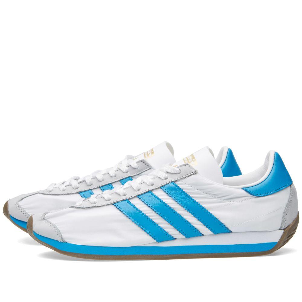 pretty nice da52a 2bd6d Adidas Country OG White  Solar Blue  END.