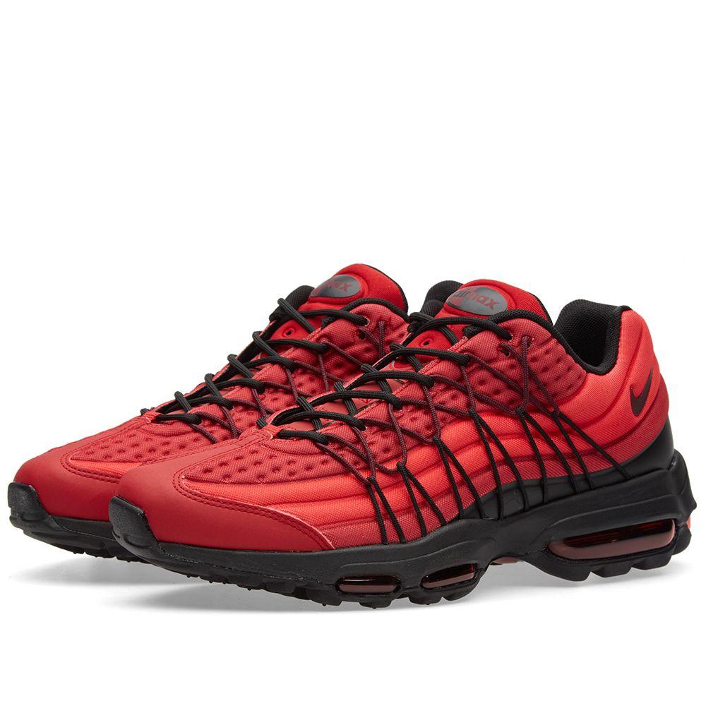 cd5e332021 Nike Air Max 95 Ultra SE Gym Red   Black