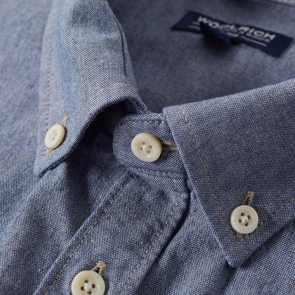31bc1041c5f Woolrich Workwear Shirt Chambray