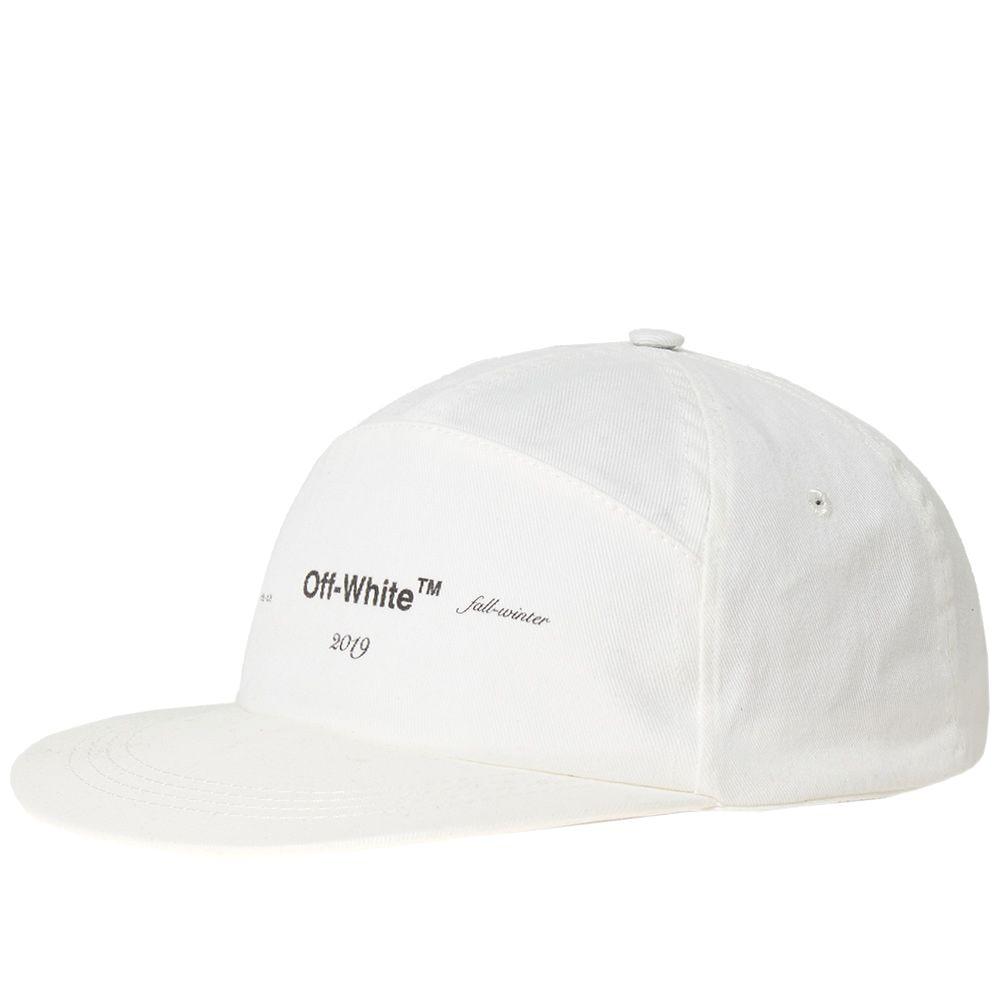Off-White Snapback Logo Cap Off White  9874fad63c8