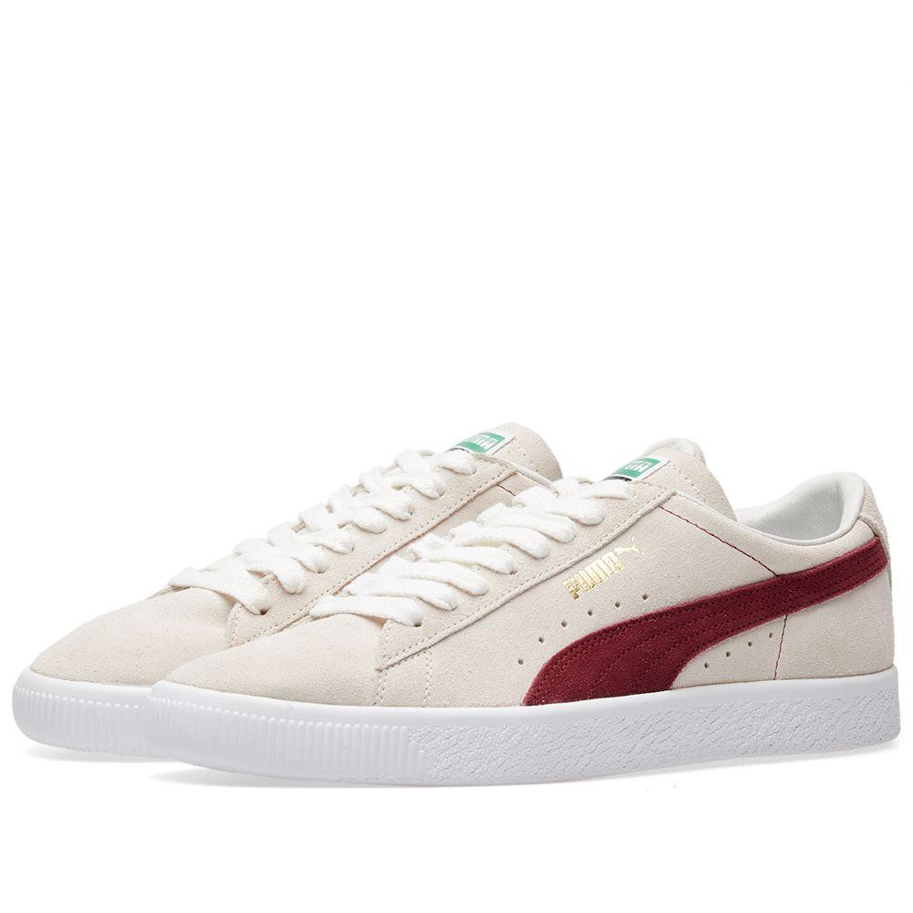 Puma Suede OG Premium White   Pomegranate  039187596