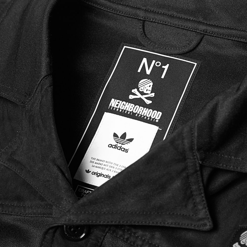 148696ebf930 Adidas x Neighborhood Track Top Cardigan Black