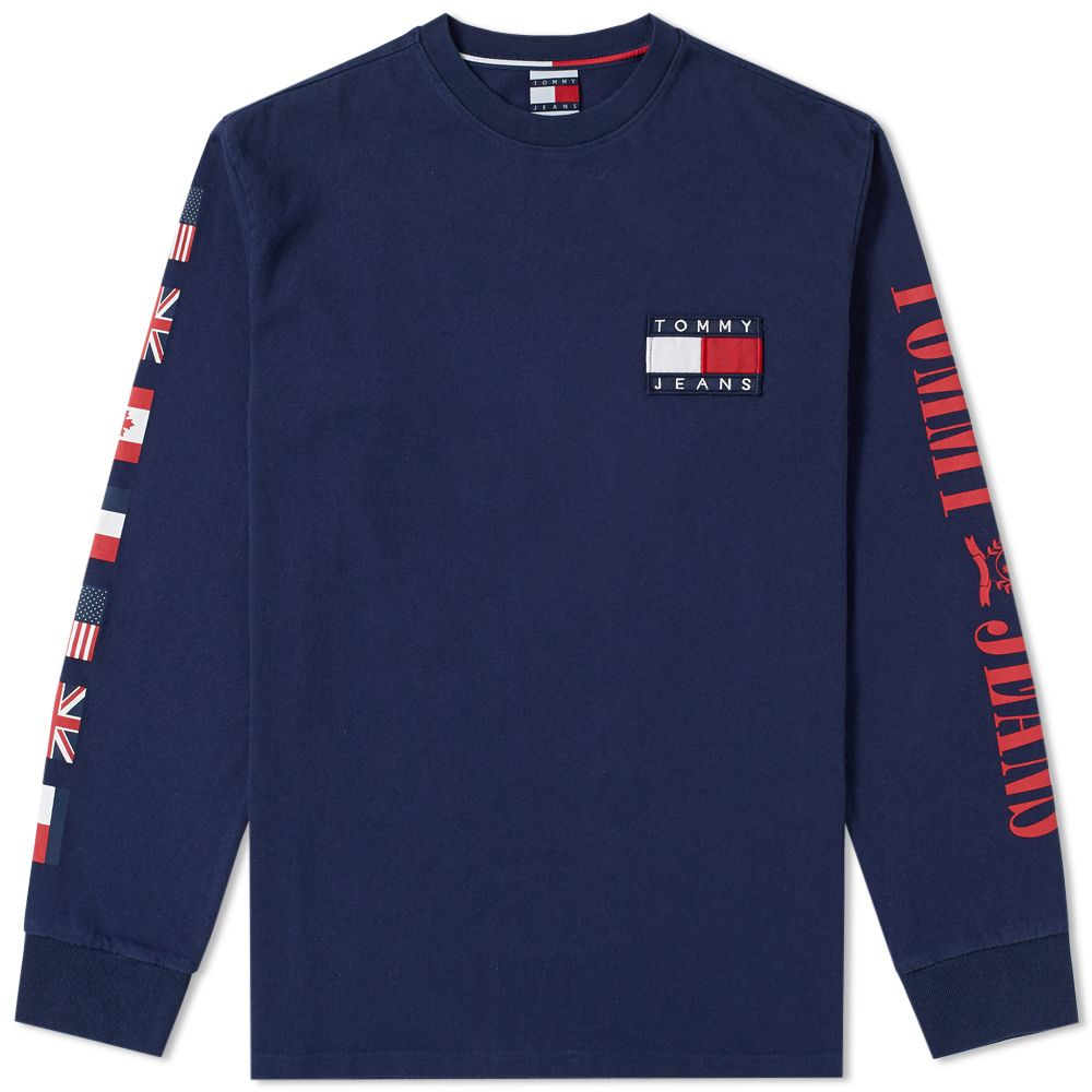 d7a305937 homeTommy Jeans Long Sleeve 90s CN Tee. image. image. image. image. image.  image. image. image. image. image. image