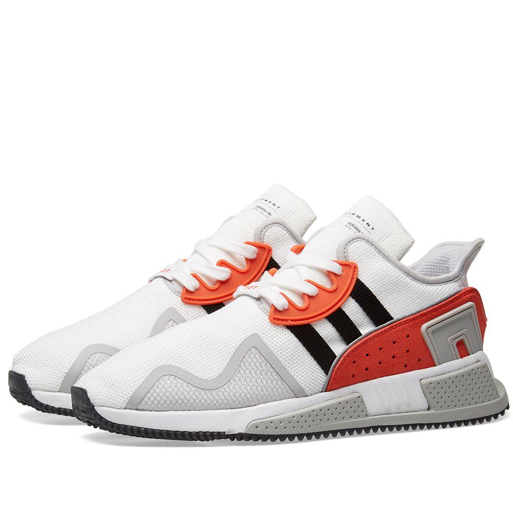 promo code 4c4fe 5aaaf Adidas EQT Cushion ADV White, Core Black  Red  END.
