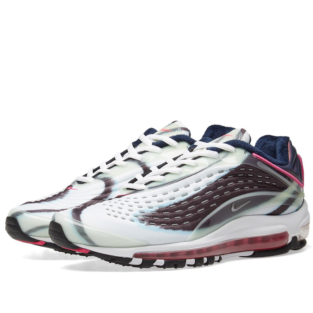 super popular 01f04 9b9f9 Nike Air Max Deluxe Green, Silver, Obsidian   Pink   END.