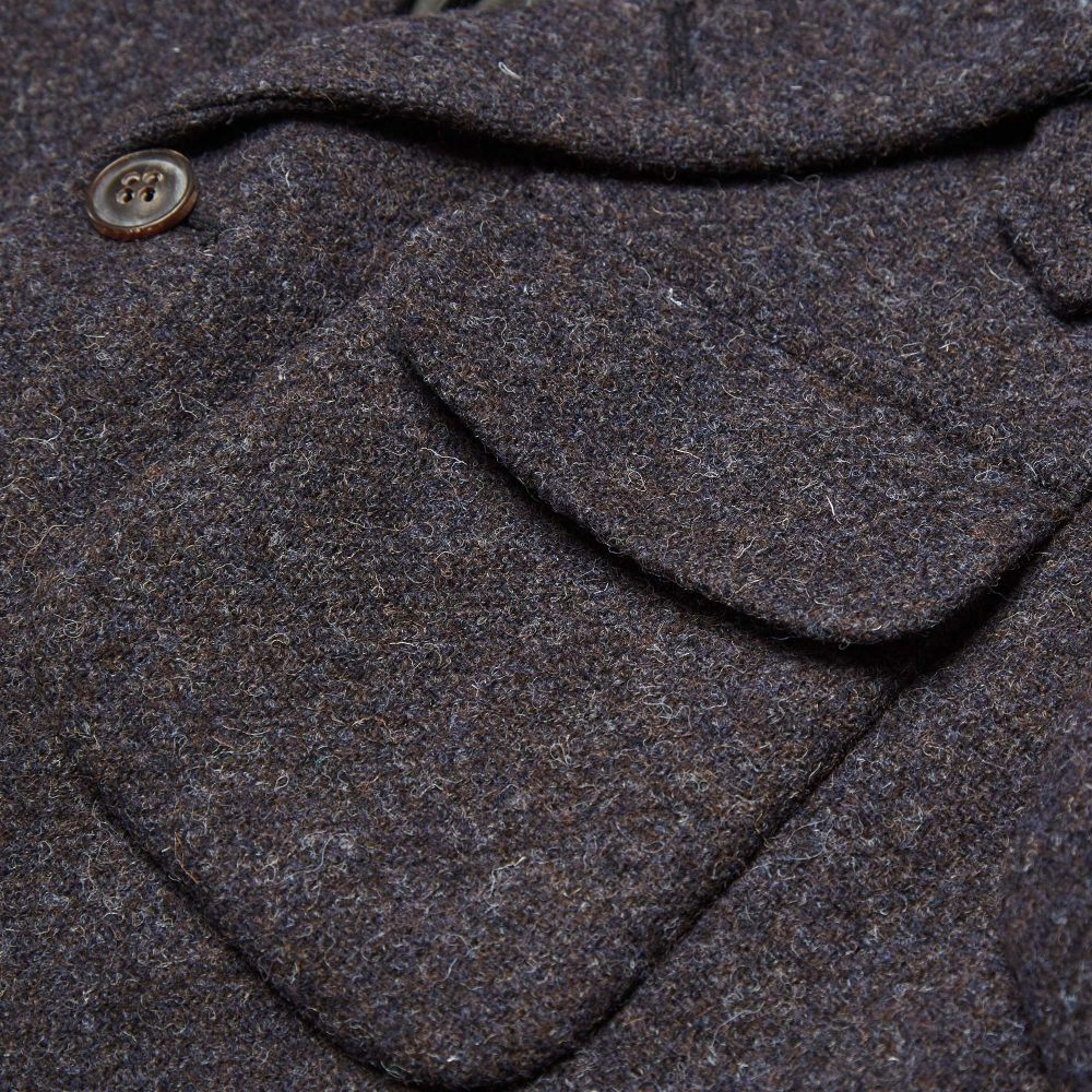 e23840fab92ada Nigel Cabourn Classic Mallory Jacket New Black Harris Tweed