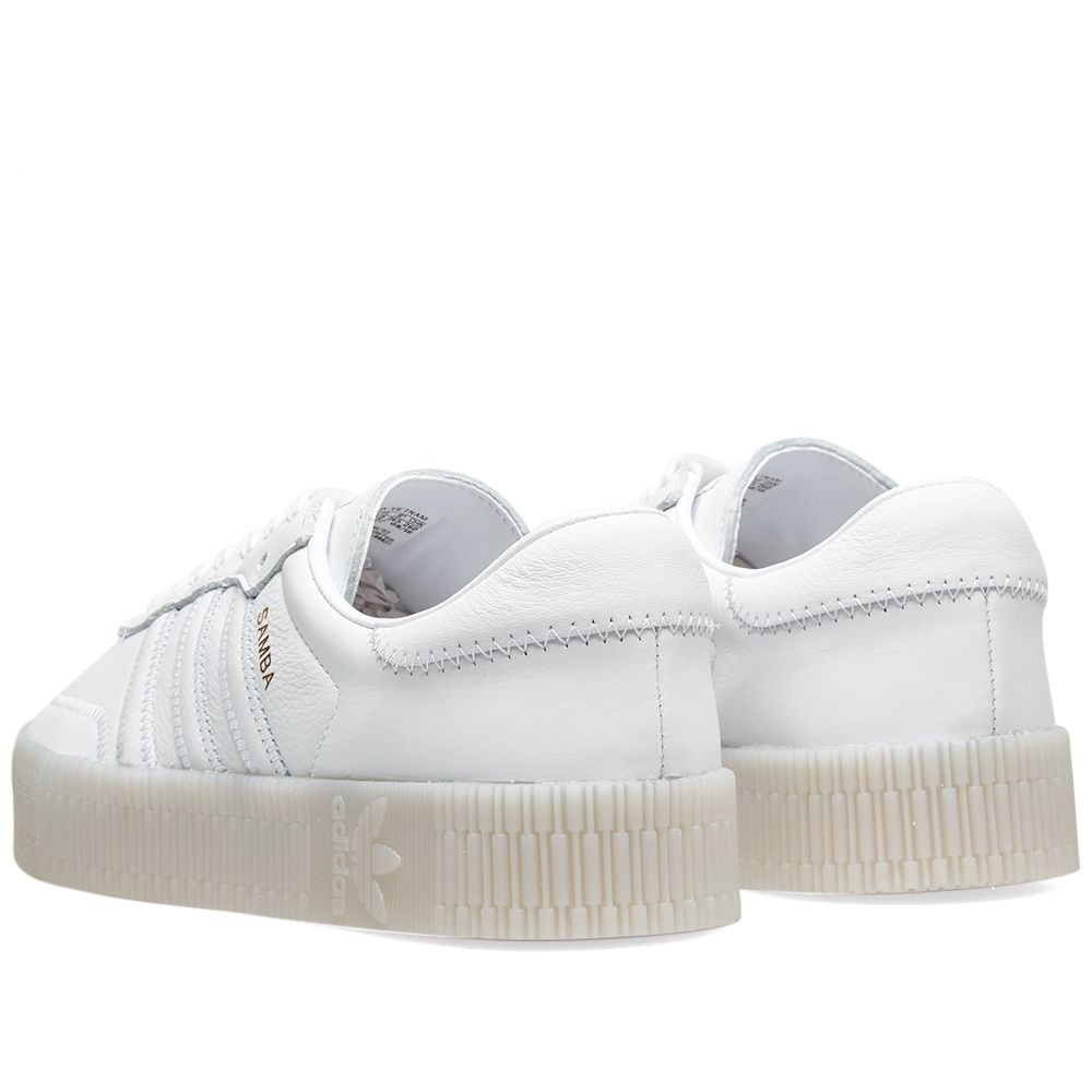 low priced 3c53b 21cc2 Adidas Sambarose W. White
