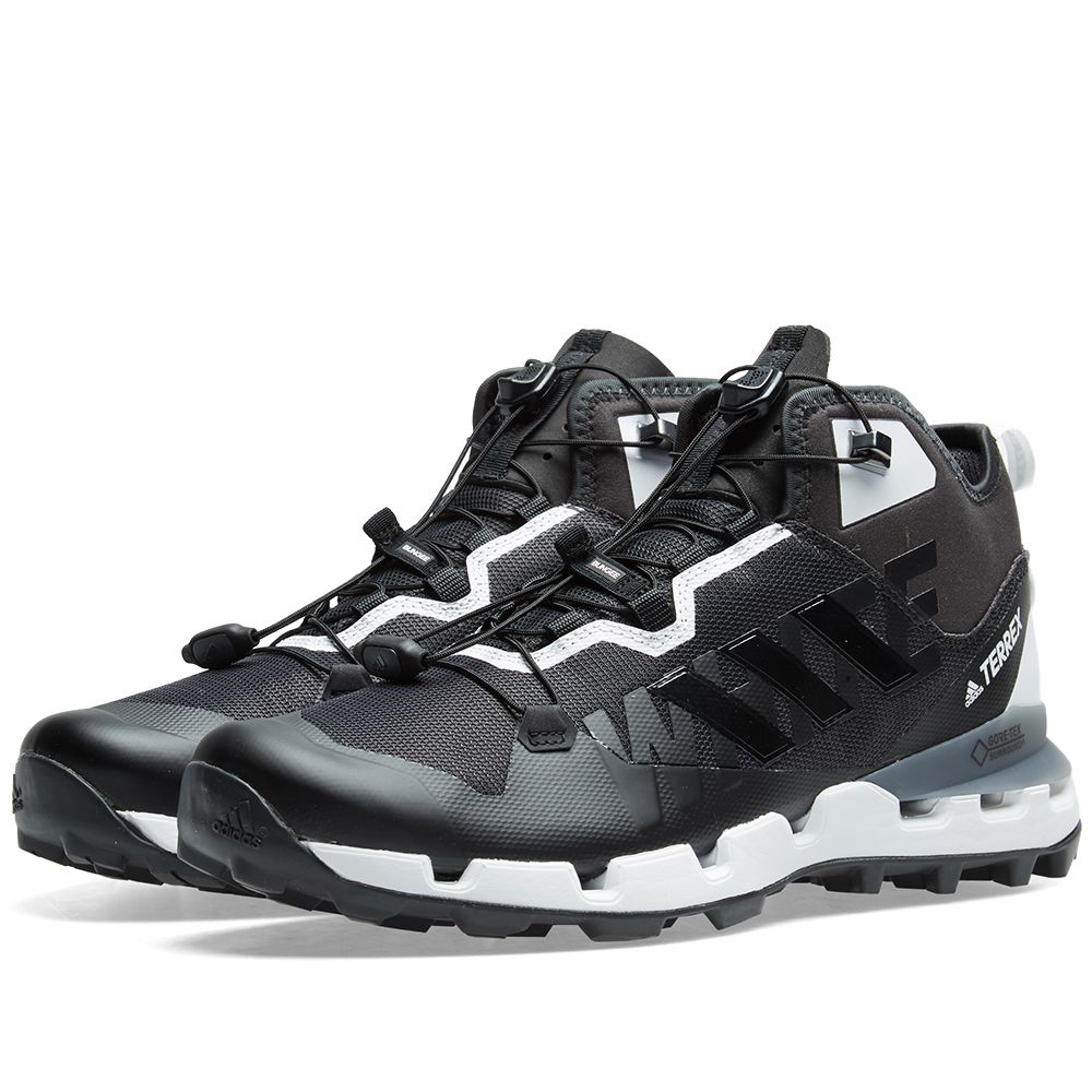 7db0e0f138a9 Adidas x White Mountaineering Terrex Fast GTX-Surround Black   White ...