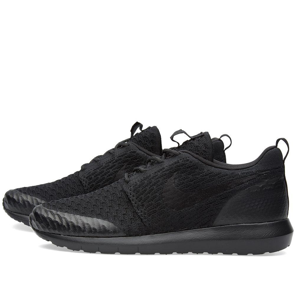 on sale 82dfe db12c Nike Roshe NM Flyknit SE Black   END.