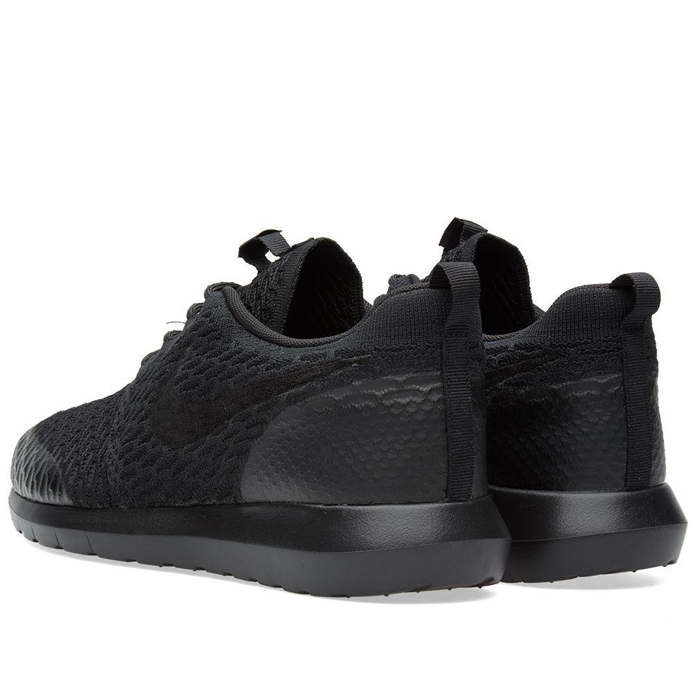 on sale 3b0e0 f9d63 Nike Roshe NM Flyknit SE Black   END.