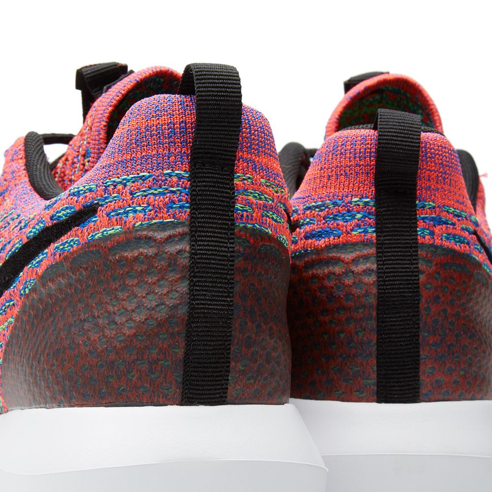 best service b857d a3f59 Nike Roshe NM Flyknit SE Bright Crimson   Black   END.