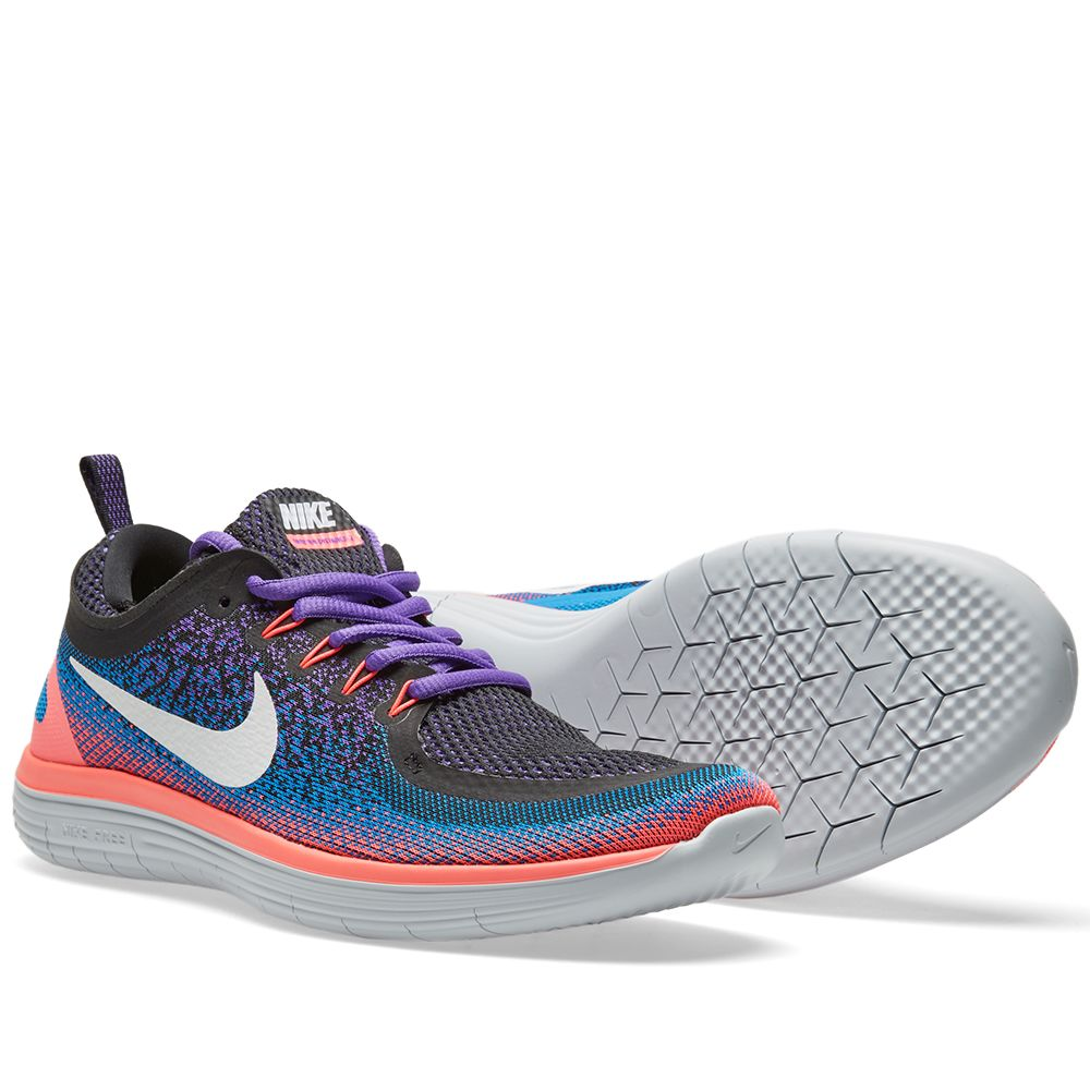 reputable site c7cdc f661e Nike Free Run Distance 2 Hyper Grape   White   END.