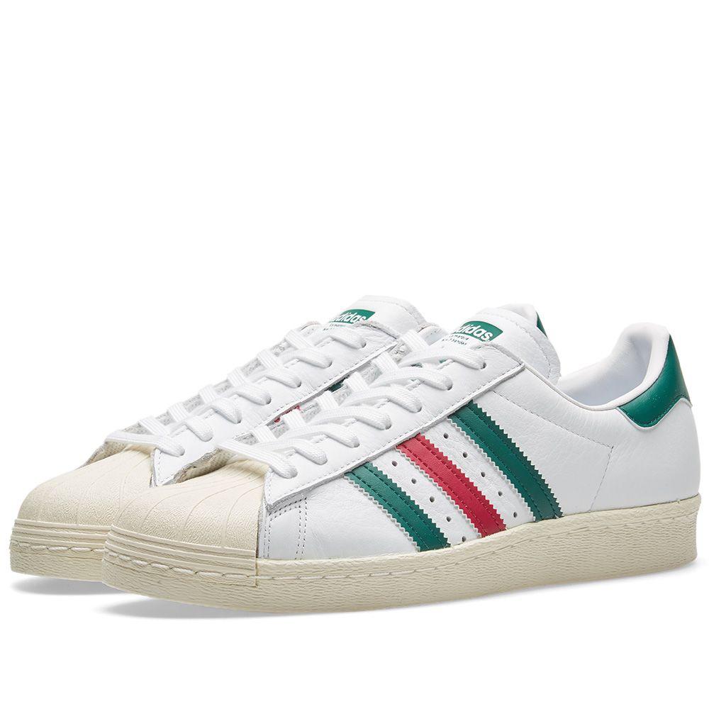 f65f8f72e4b Adidas Superstar 80s White