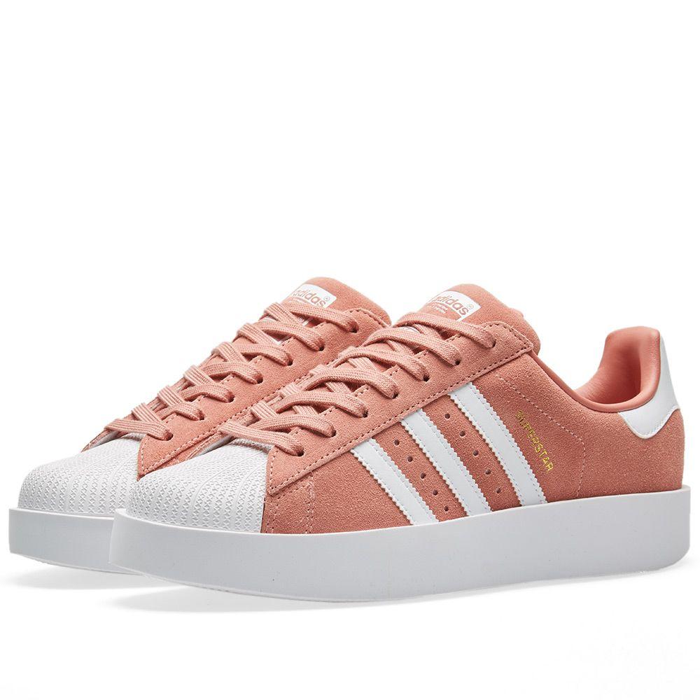 49ee03293aa Adidas Superstar Bold W Ash Pink