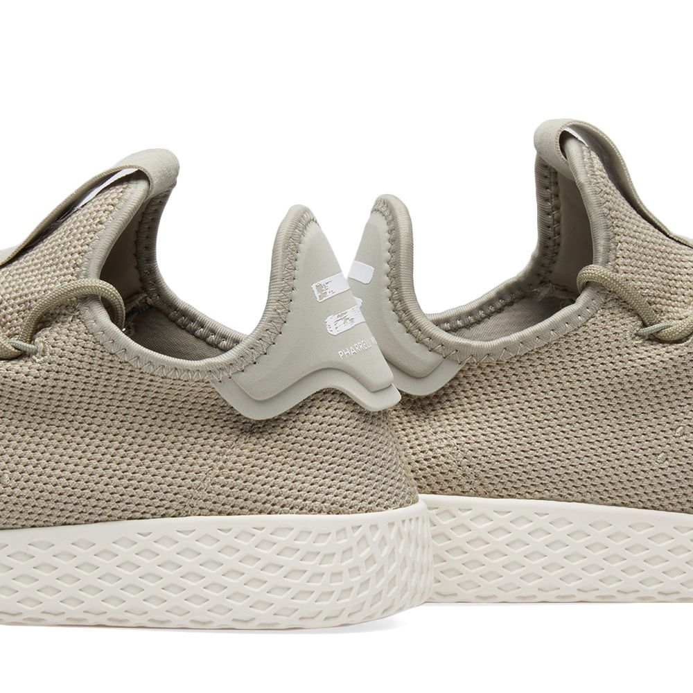 Adidas x Pharrell Williams Tennis Hu Tech Beige   Chalk White  dc935302c