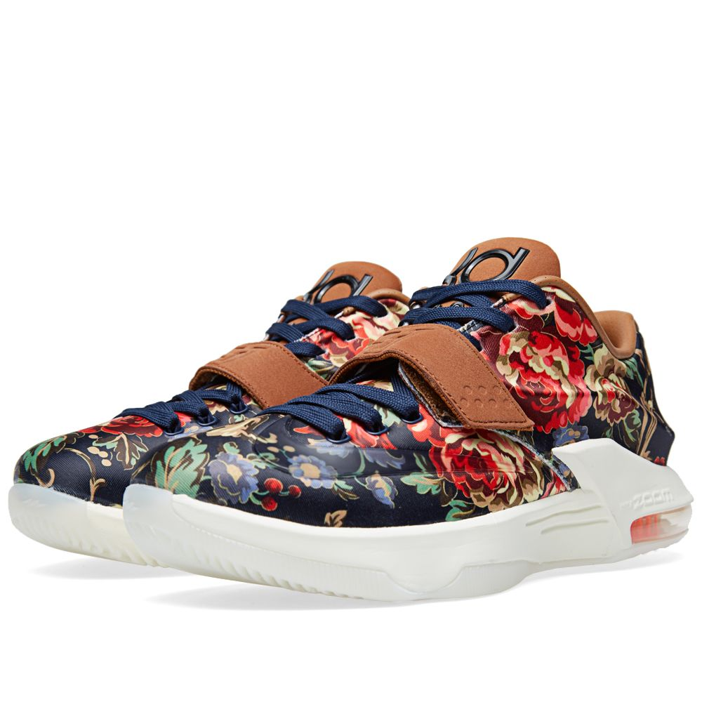 cheap for discount bbed0 742a0 Nike KD VII EXT Floral QS Midnight Navy   END.