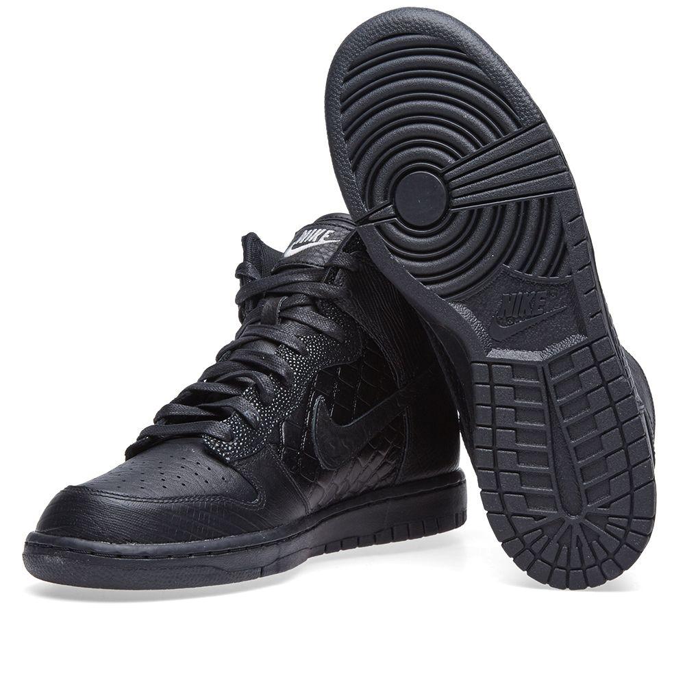 pretty nice d78af 199e2 Nike W Dunk Hi LX Black  Ivory  END.