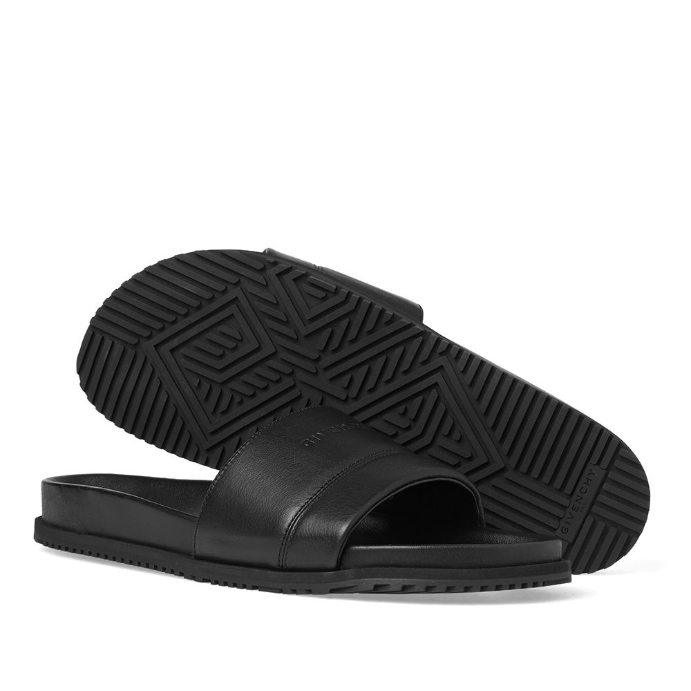 5c1ac821c70b Givenchy Plaza Leather Sandal Black