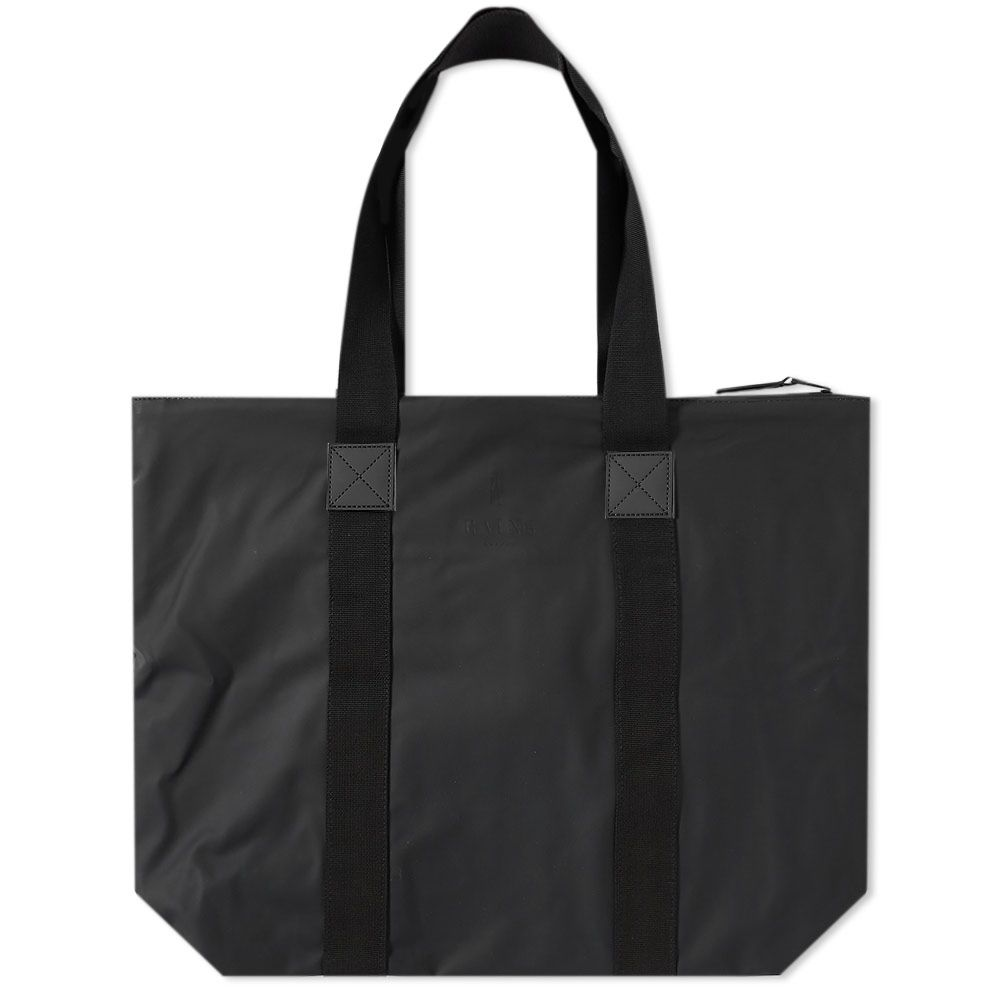 Rains Rush Tote Bag. Black. S 65. image 46617930b115c