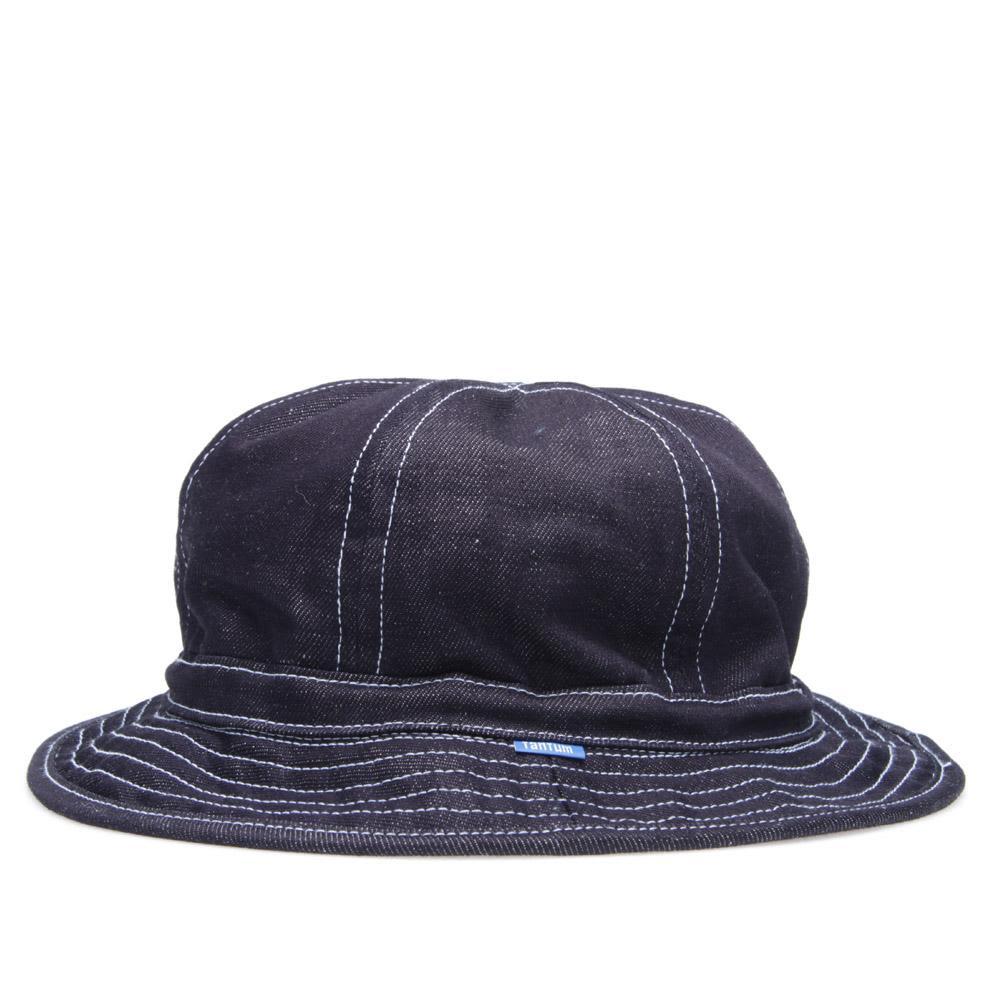 b66a2251cdb6b Tantum Raw Japanese Denim Hat Indigo