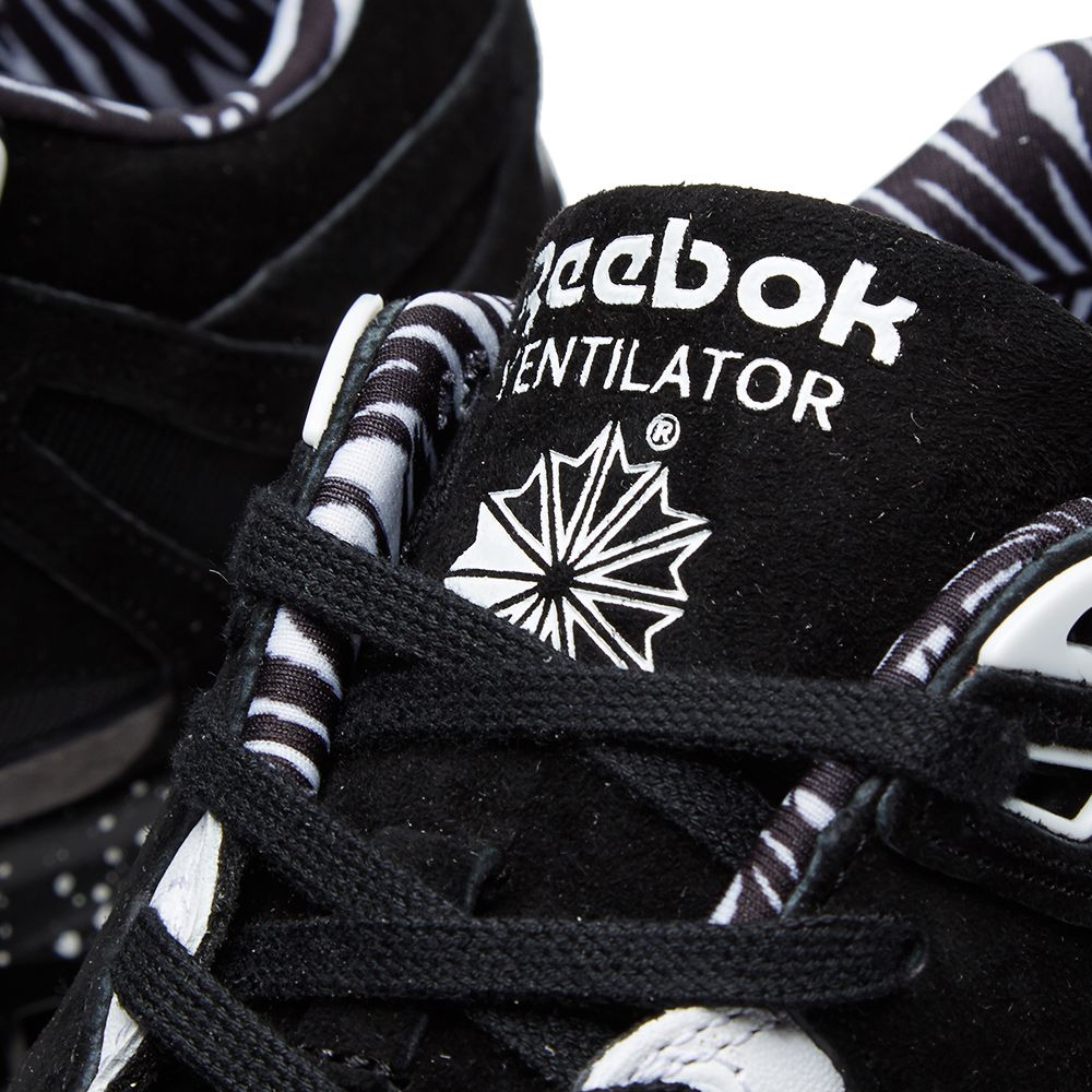 7ff52f7e0b3 Reebok x Mighty Healthy Ventilator Black   Grey