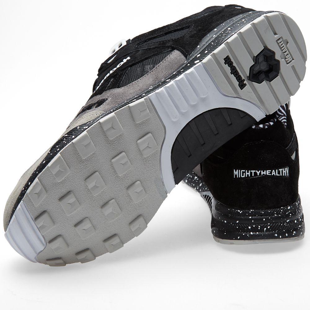 bdd7a4c52fd Reebok x Mighty Healthy Ventilator. Black   Grey. AU 159
