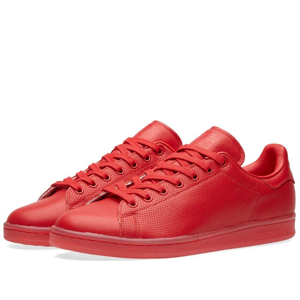 24026f2e61a Adidas Stan Smith Adicolor. Scarlet. £65 £32. image