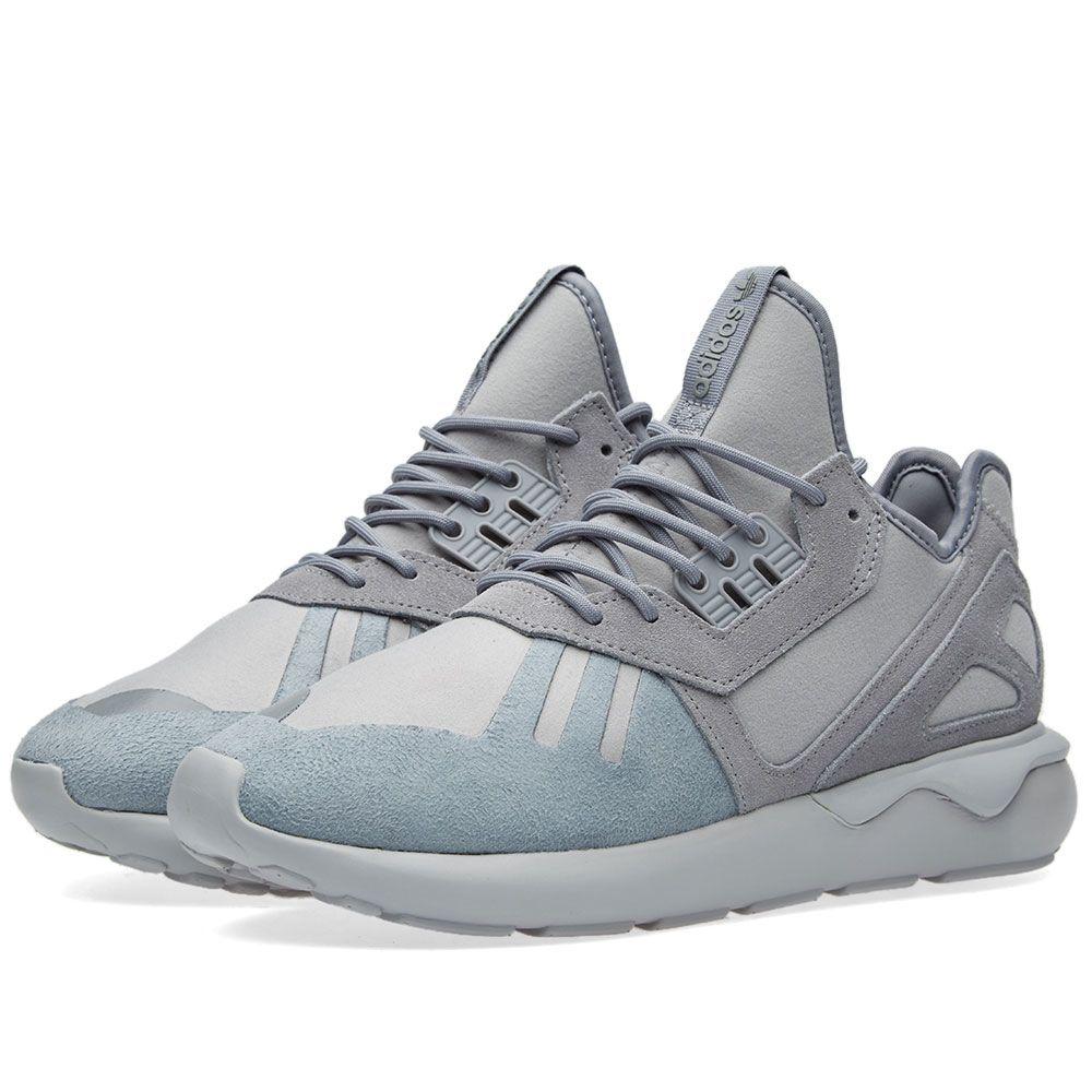50d9020a294 Adidas Tubular Runner Solid Grey