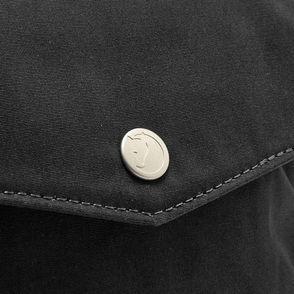 68769d7a4b590 Fjällräven Greenland Pocket Cross Body Bag Black