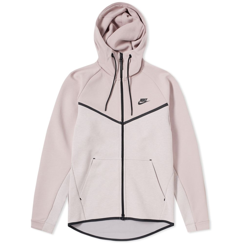 promo code e5585 f33ab Nike Tech Fleece Windrunner Hoody Particle Rose, Heather  Bl