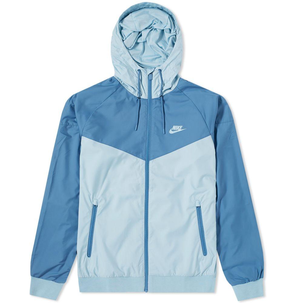 3865a70895 Nike Windrunner Jacket Ocean Bliss   Aegean Storm
