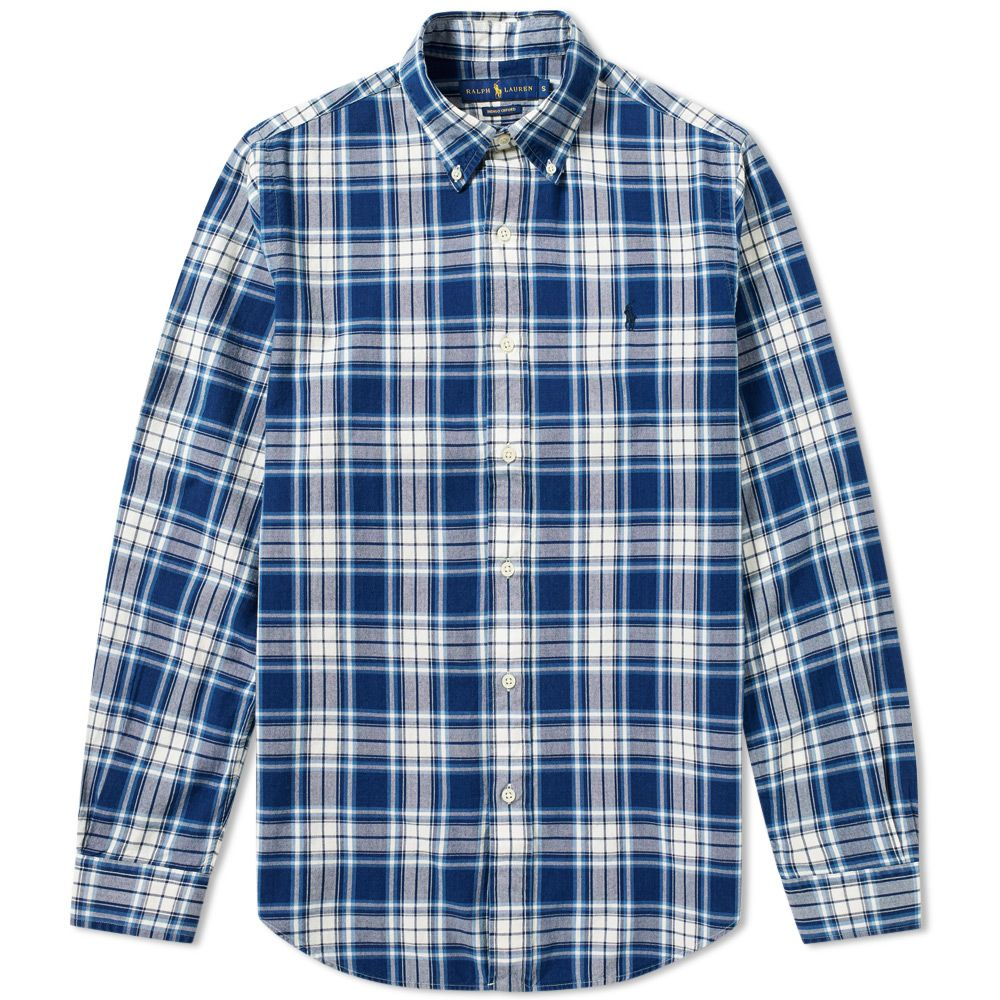 30f11ac3baa homePolo Ralph Lauren Custom Fit Button Down Check Oxford Shirt. image.  image. image. image. image. image. image. image