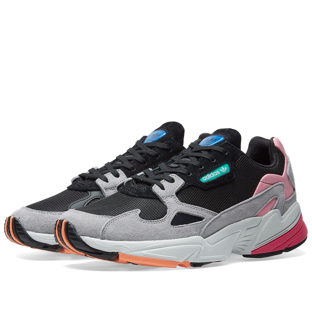 timeless design 6f5e2 23faf Adidas Falcon W Core Black  Light Granite  END.