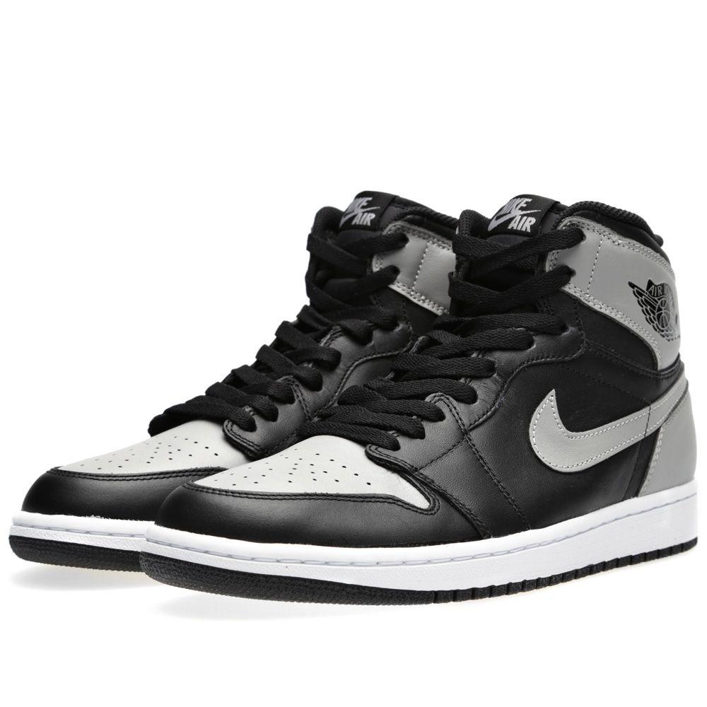 Nike Air Jordan 1 Retro High OG  Shadow  Black   Soft Grey  e16a2809e
