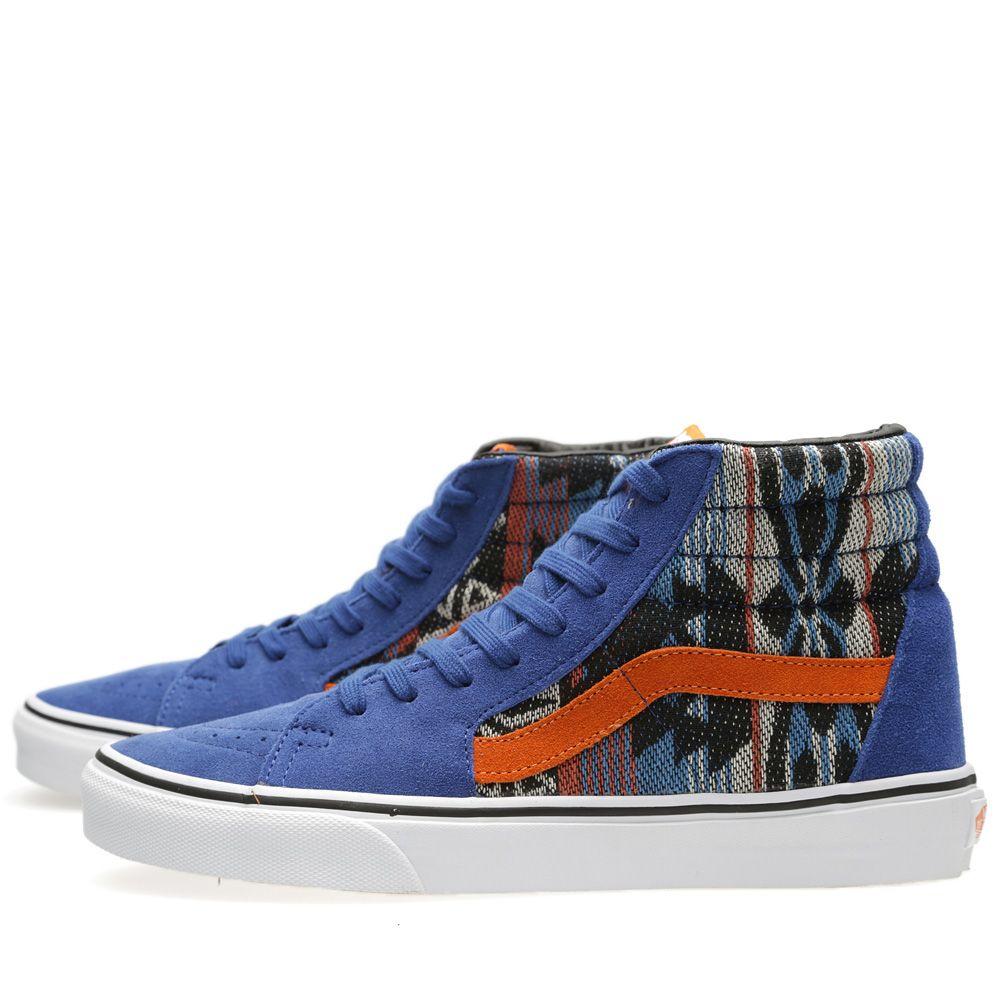 39c867bb397ca0 Vans Sk8-Hi Suede Inca True Blue