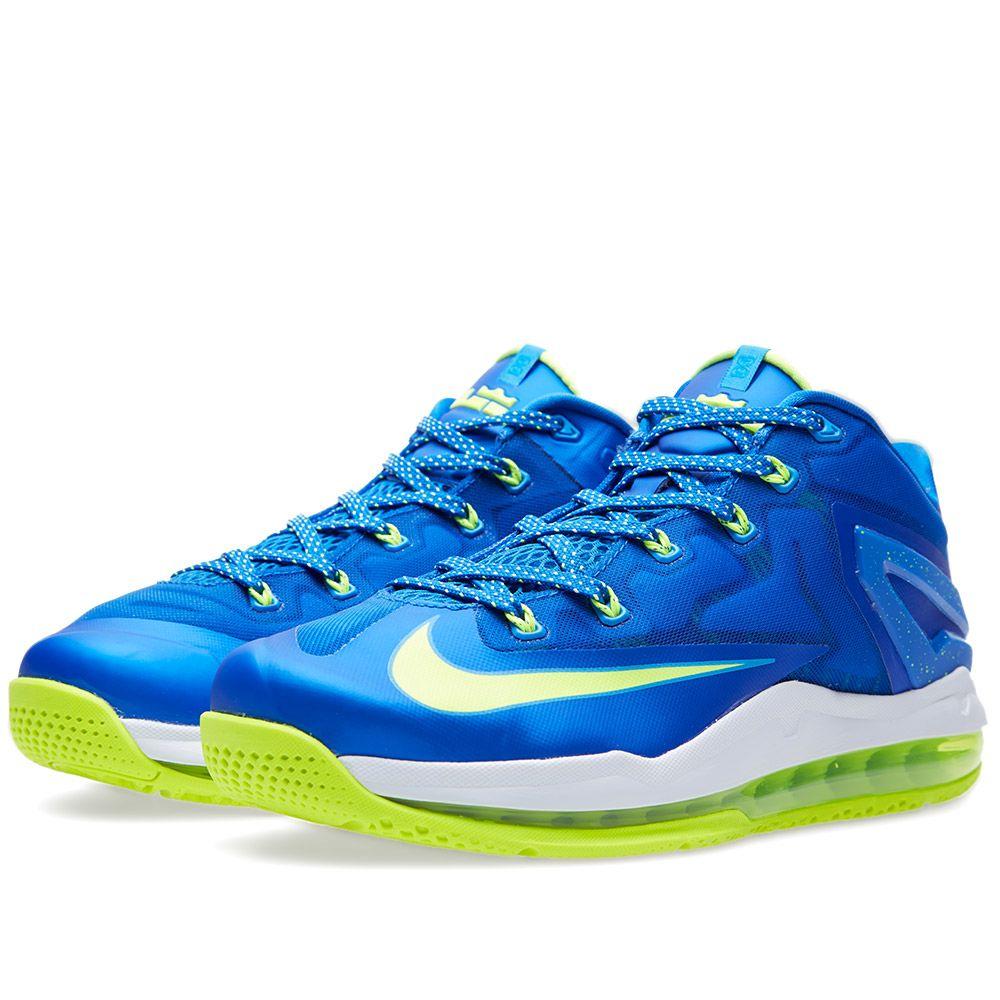 the best attitude fb48f 33821 Nike Max Lebron XI Low  Sprite . Hyper Cobalt, Volt   White. HK 1,215. Plus  Free Shipping. image