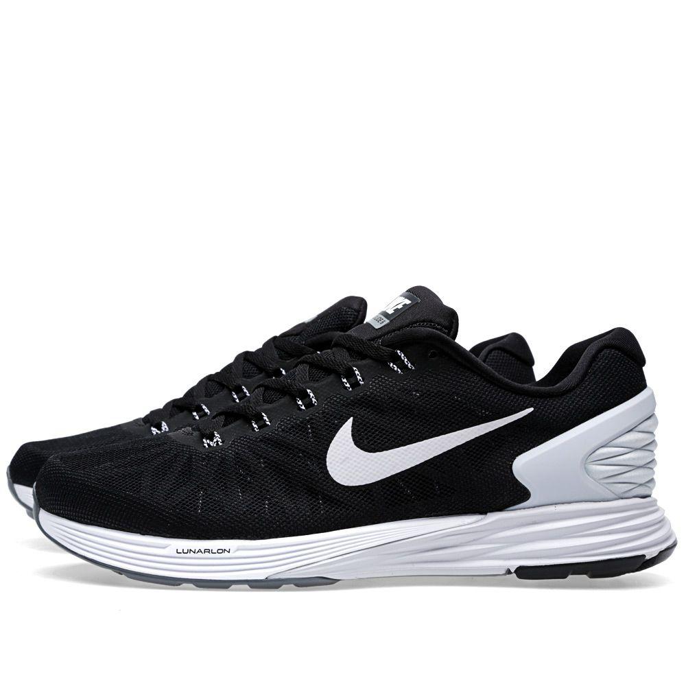 Nike Lunarglide 6 Black   Pure Platinum  e008ac1df
