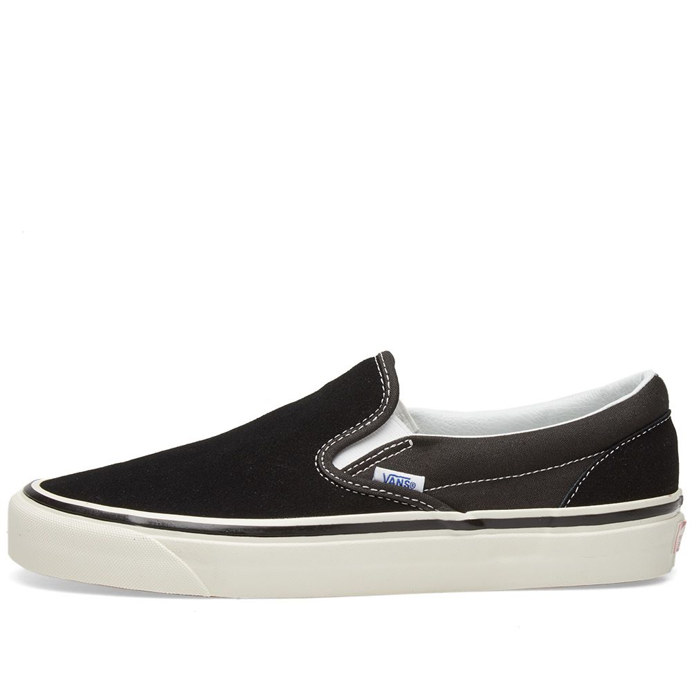 Vans Classic Slip On 98 DX OG Black Suede  9872faa89