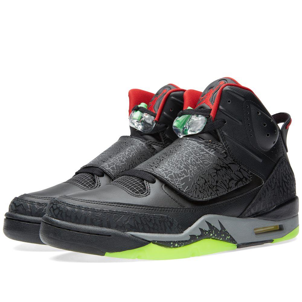 big sale ca841 b6afc Nike Air Jordan Son of Mars Black, Gym Red   Cool Grey   END.