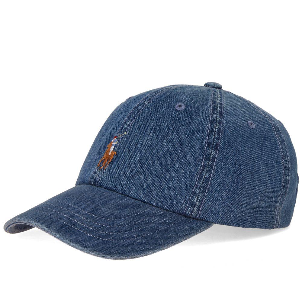 Polo Ralph Lauren Classic Baseball Cap. Denim. DKK395. image 56a63a0b0cf6
