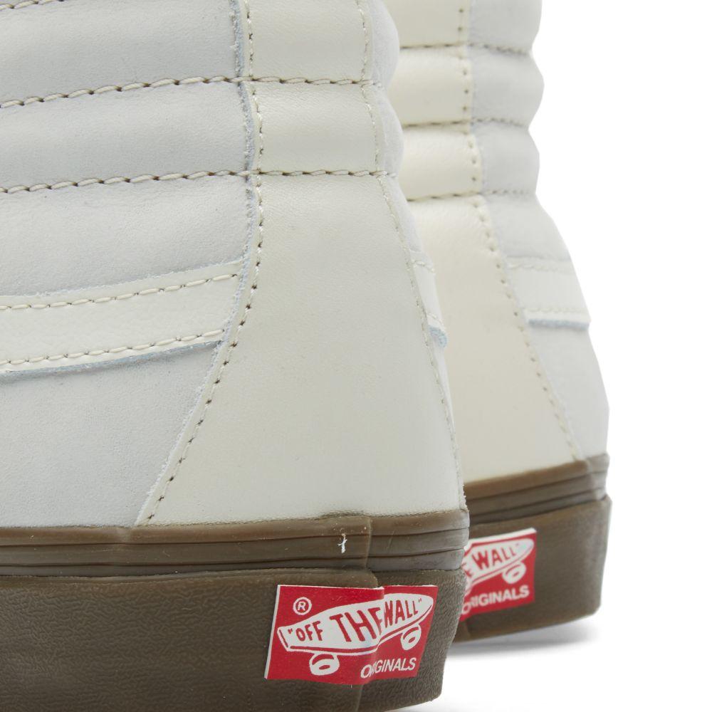 caad4cdbaa Vans Vault OG Sk8-Hi LX Premium. Marshmallow. CA 155 CA 99