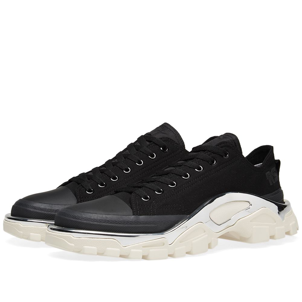 Adidas x Raf Simons Detroit Runner Black   White  c1846b02e