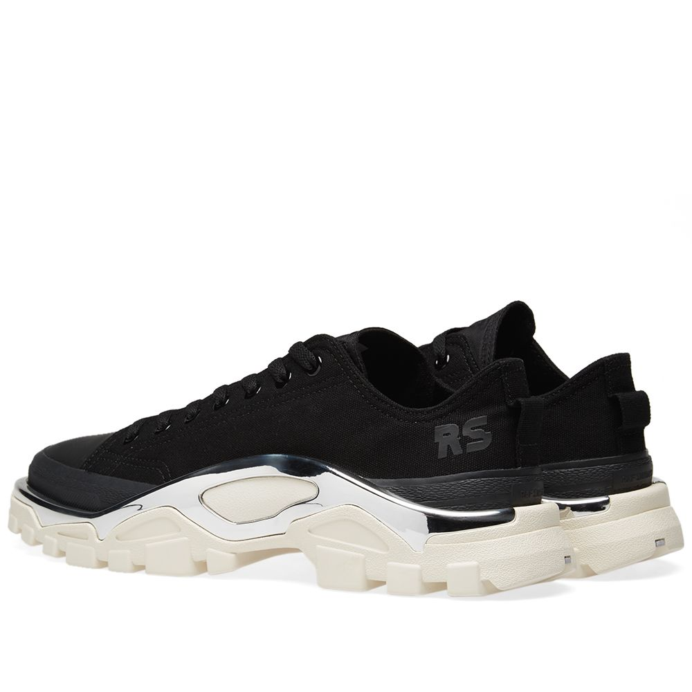 3f6f50d98ace Adidas x Raf Simons Detroit Runner Black   White