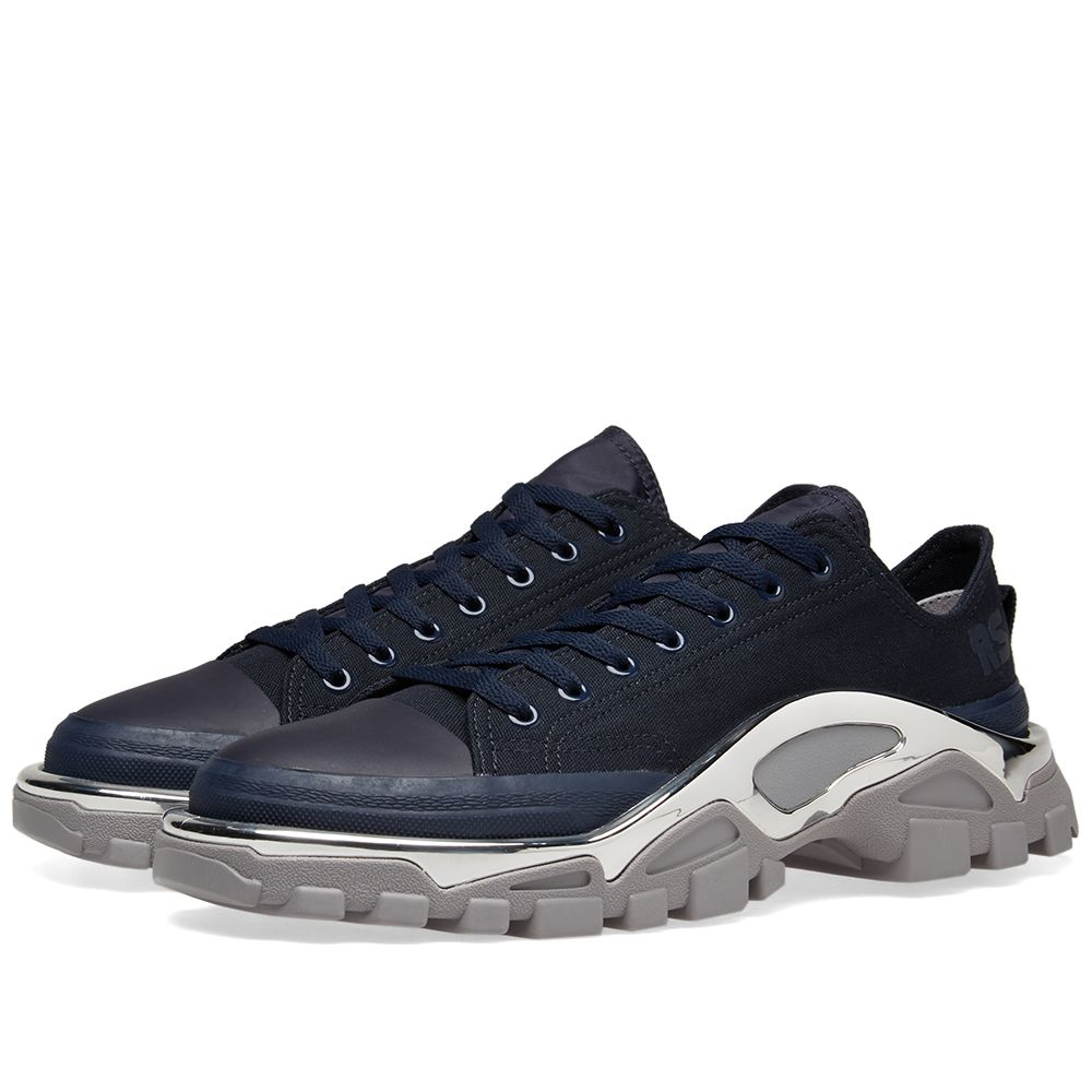 pretty nice 00d97 e5af8 Adidas x Raf Simons Detroit Runner Navy  Grey  END.