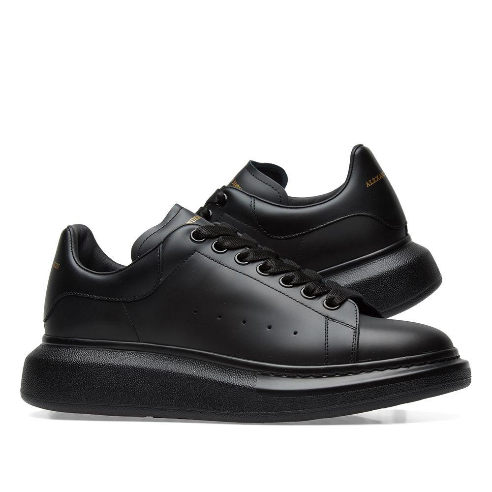 9b7d76ed03a1 Alexander McQueen Wedge Sole Sneaker Triple Black
