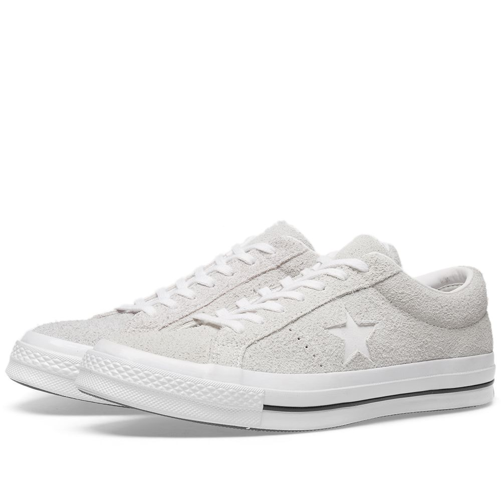 cf93832dd9f Converse One Star 74 Ash Grey   White