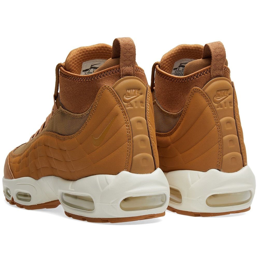 385c1278a99 Nike Air Max 95 Sneakerboot Flax   Ale Brown