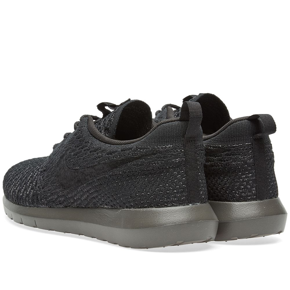 13c7970c19036 Nike Roshe NM Flyknit Black   Midnight Fog