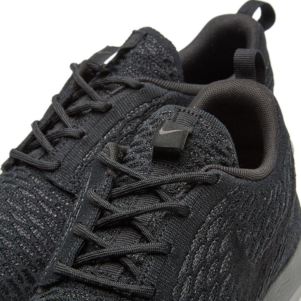 super popular bc928 6b614 Nike Roshe NM Flyknit. Black   Midnight Fog. £99 £49. image